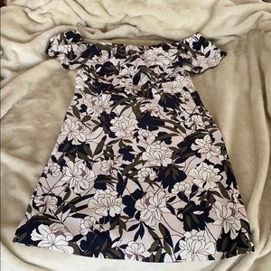 Banana Republic Sleeveless Pocket Floral Dress